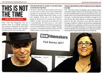 """Film The Magazine (London) 2018: """"Thought-provoking"""""""